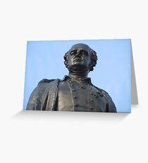 Sir John Franklin Statue Greeting Card