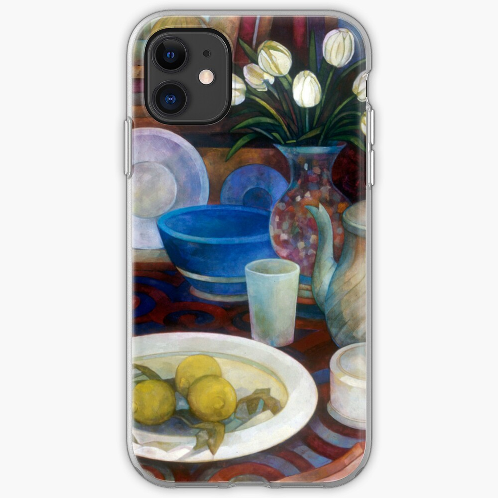 still life with tulips iPhone Case & Cover