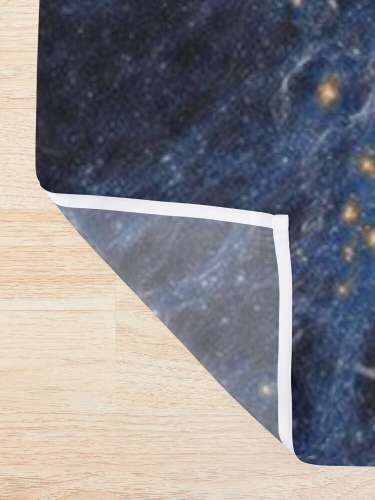 Alternate view of Our Home Supercluster, Laniakea, supercluster of galaxies Shower Curtain