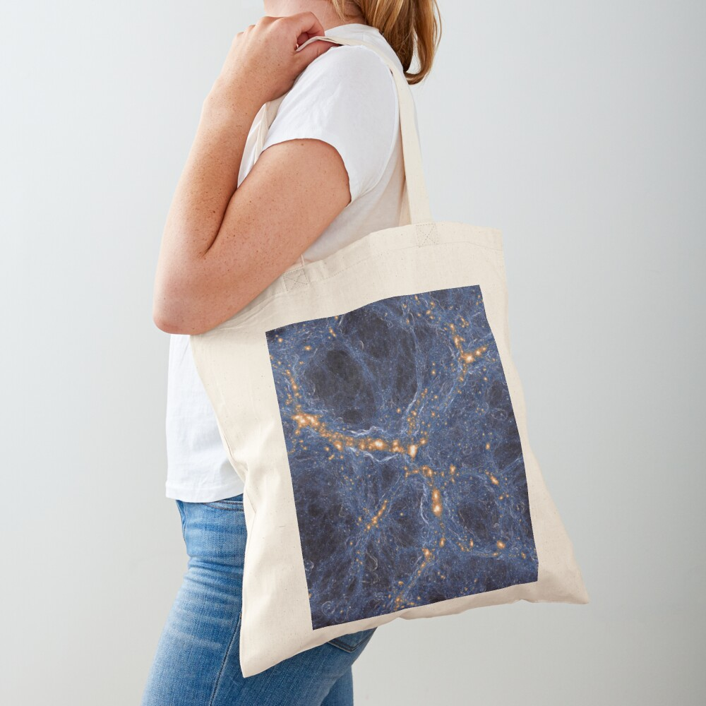 Our Home Supercluster, Laniakea, supercluster of galaxies Tote Bag