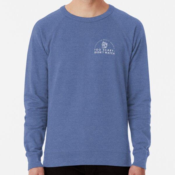 Certified Brave Person (for dark backgrounds) Lightweight Sweatshirt