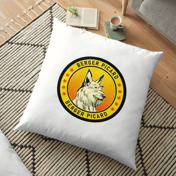 berger picard  -cute gift for berger picard   for mom,dad,women and men  Floor Pillow
