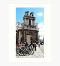St Mary Woolnoth Art Print