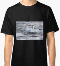 Gentoo penguins (Pygoscelis papua) on Danco Island  Classic T-Shirt