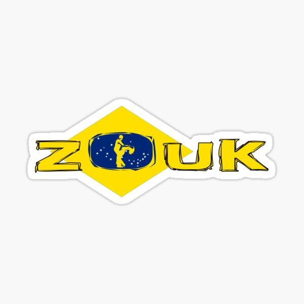 brasilianisches ZOUK Sticker