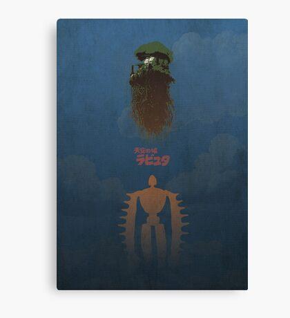 Ghibli Minimalist 'Laputa: Castle in the Sky' Canvas Print