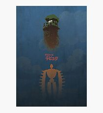 Ghibli Minimalist 'Laputa: Castle in the Sky' Photographic Print