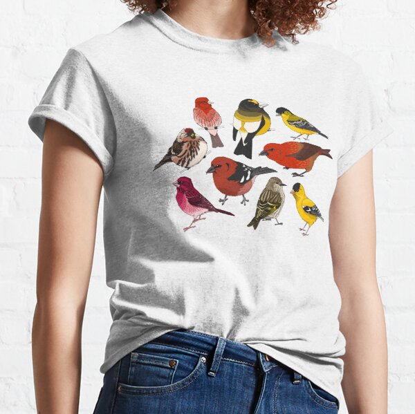 North American Finches Classic T-Shirt