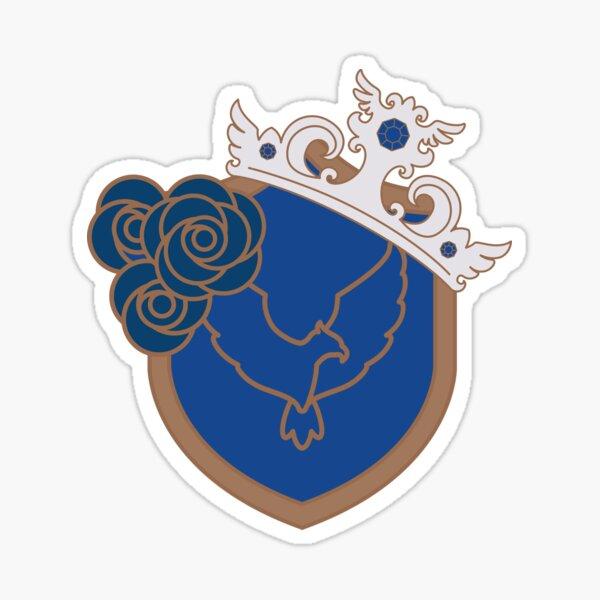 Eagle House Shield & Diadem Sticker