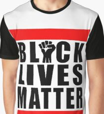 Power Fist Black Lives Matter Graphic T-Shirt