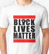 Power Fist Black Lives Matter Unisex T-Shirt