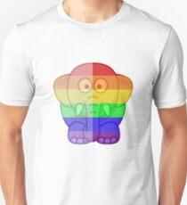 Love U Tees Funny Rainbow Animals Elephant LGBT Pride Week Swag, Unique Rainbow Gifts T-Shirt