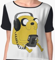 JAKE THE DOG Women's Chiffon Top