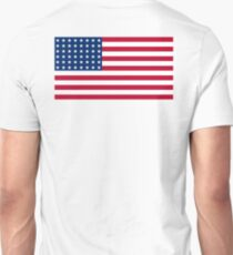 WAR FLAG, AMERICAN, Stars & Stripes, US Flag, 48 stars. Used 47 years, July 4, 1912, to July 3, 1959. T-Shirt