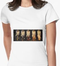 Who is the Doctor?  Costumes Women's Fitted T-Shirt