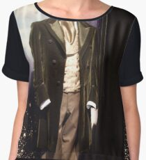 Who is the Doctor?  the 8th Doctor Costume Women's Chiffon Top