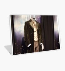 Who is the Doctor?  the 8th Doctor Costume Laptop Skin
