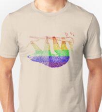 Love U Tees Funny Rainbow Animals Sloth LGBT Pride Week Swag, Unique Rainbow Gifts Unisex T-Shirt