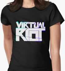 Virtual Riot Merch Womens Fitted T-Shirt