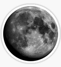 Moon (large) Sticker