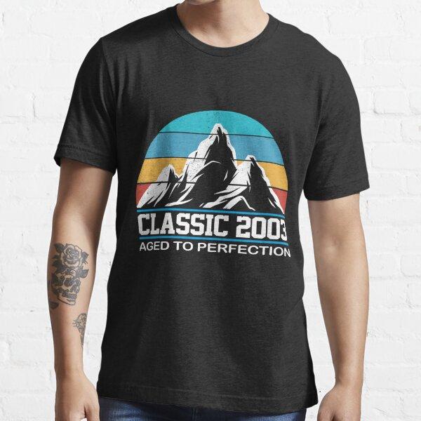 Vintage 2003 - 18th Birthday Gift For Men T-shirt Essential T-Shirt
