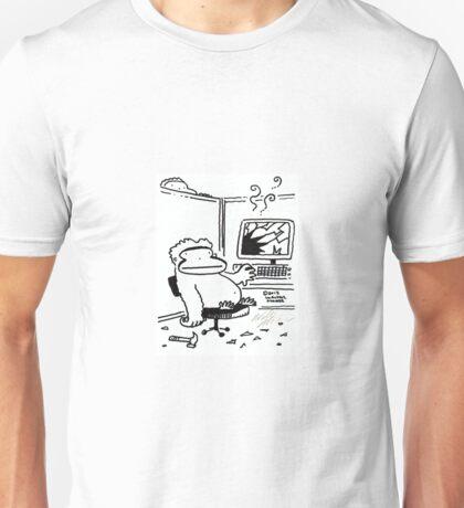 Computer Repair Ape Unisex T-Shirt