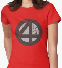 Fantastic 4 1/2! Womens Fitted T-Shirt