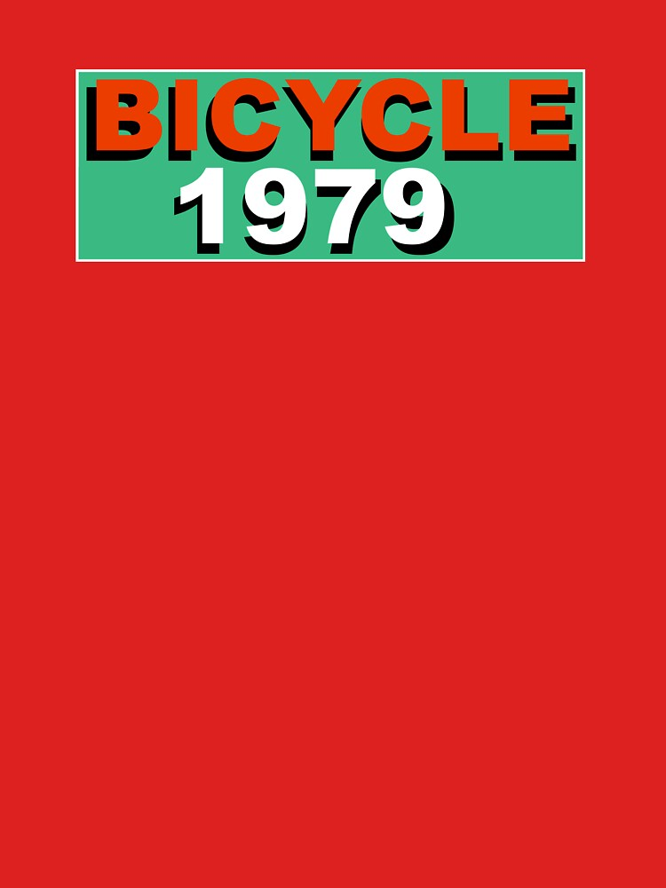 Bicycle 1979 by motorcycles
