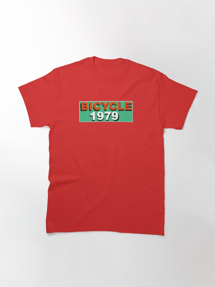 Alternate view of Bicycle 1979 Classic T-Shirt