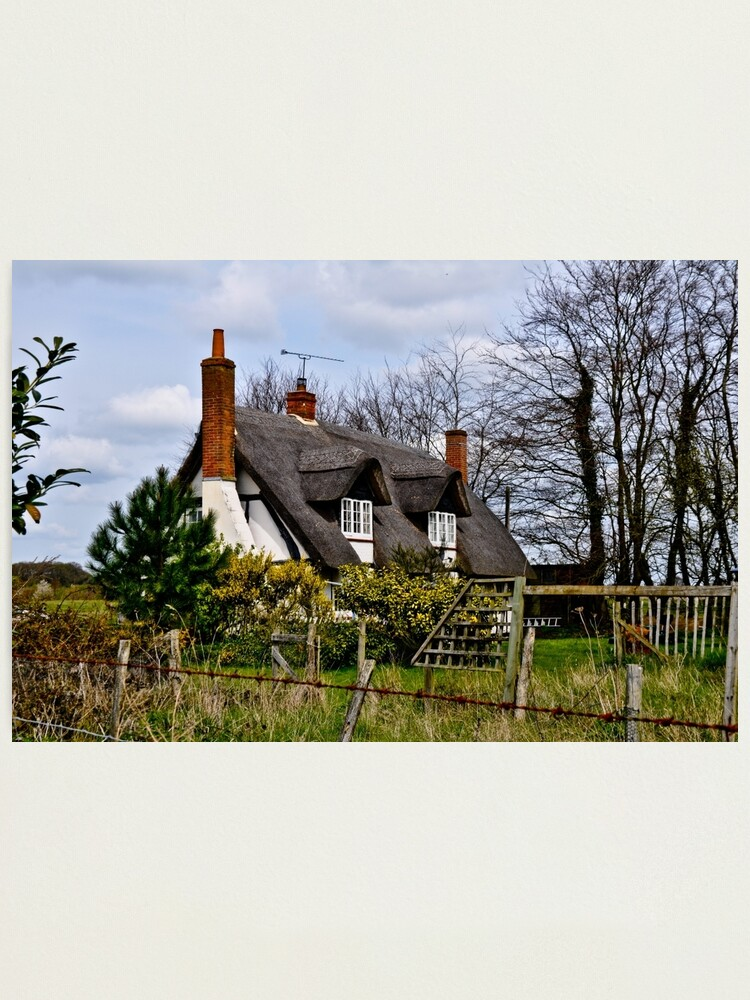 Alternate view of English Cottage Photographic Print