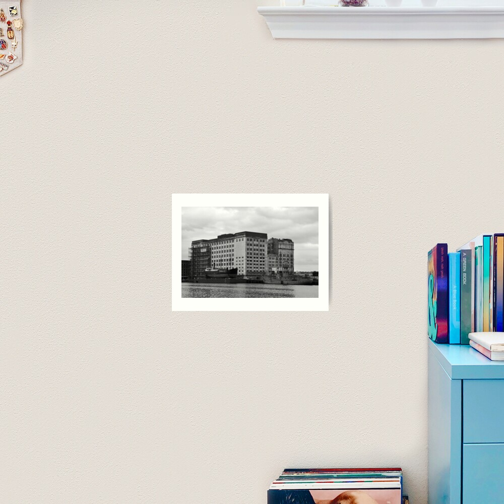 London docks Art Print