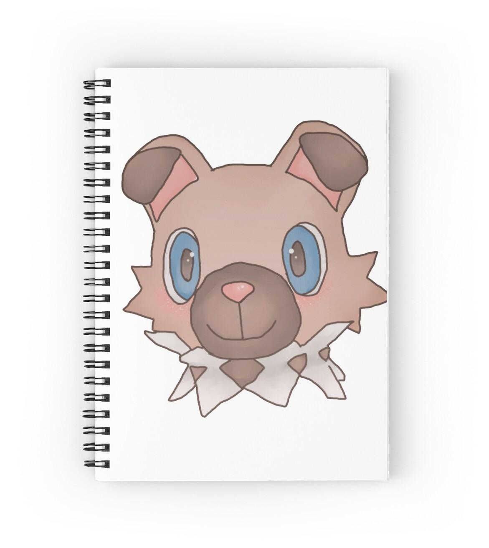 """Cute Iwanko / Rockruff Pokemon"" Spiral Notebooks by Neo ..."
