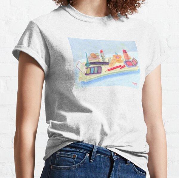 Retro Cosmetic Tray Classic T-Shirt