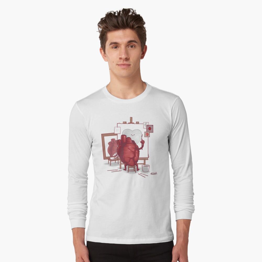 Self Portrait Long Sleeve T-Shirt Front