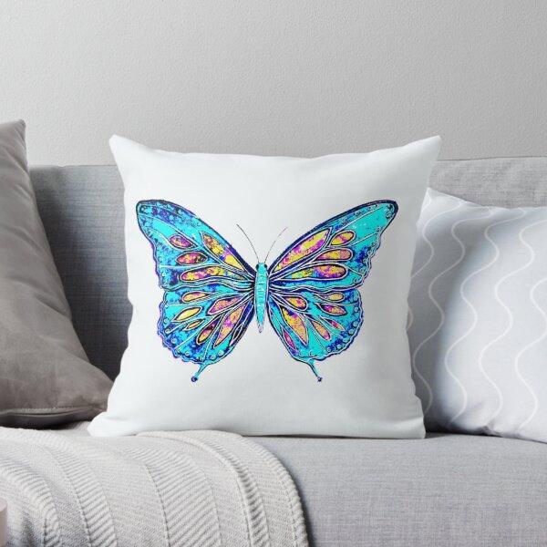 Angel Butterfly Throw Pillow