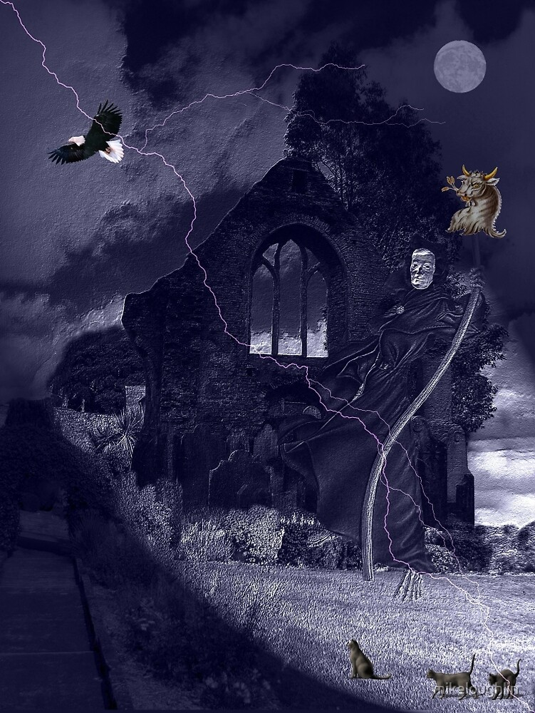 Phantom of the Abbey by mikeloughlin