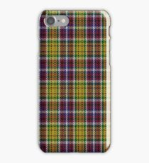 02105 City of Williams Lake District Tartan  iPhone Case/Skin