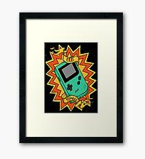Game Boy Old School Framed Print