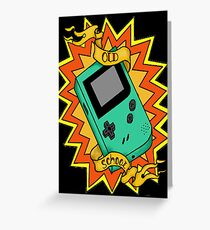 Game Boy Old School Greeting Card