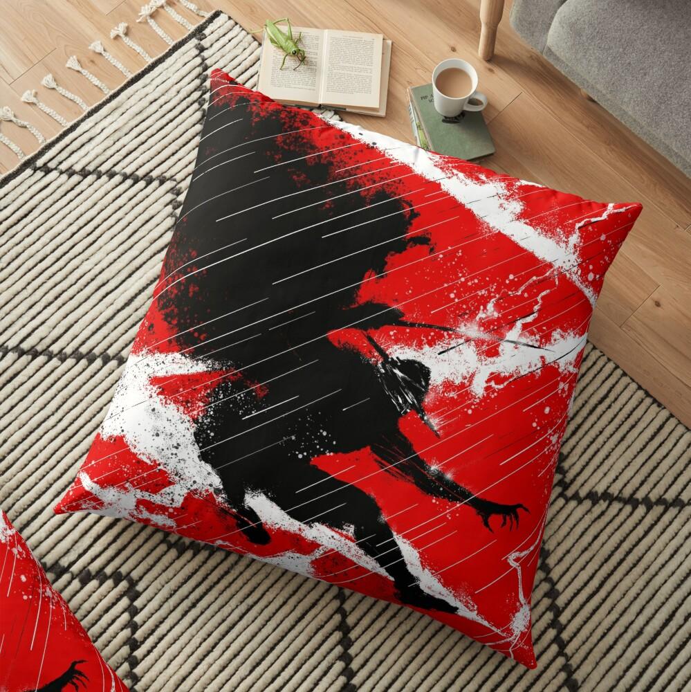 Zorro Thunder Floor Pillow