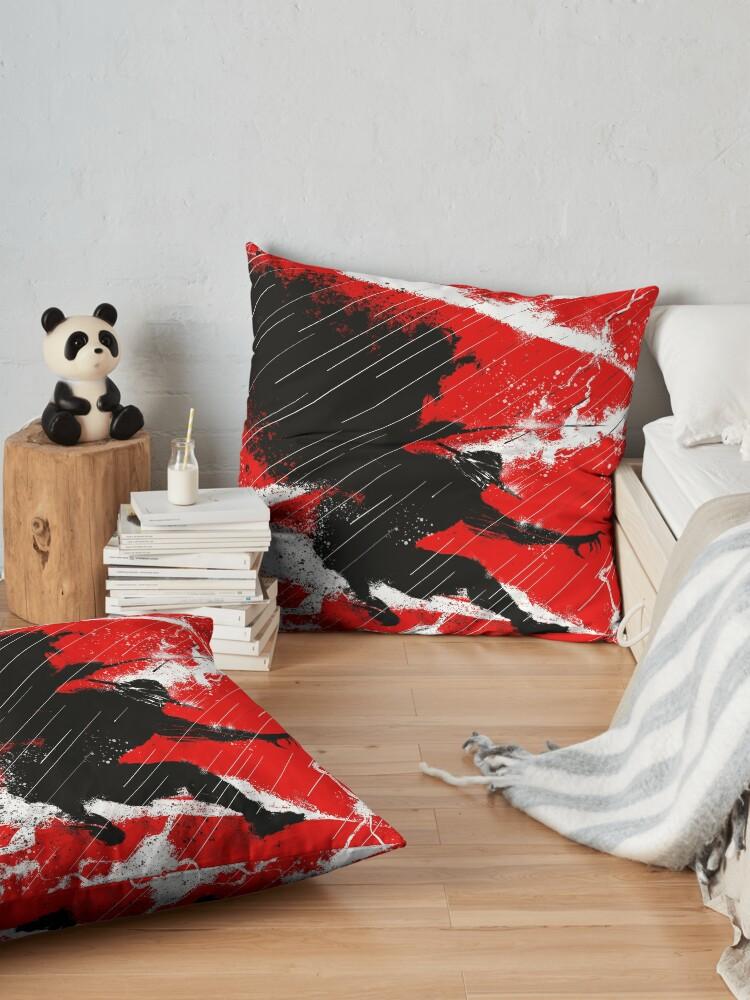 Alternate view of Zorro Thunder Floor Pillow