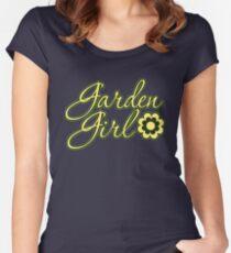 Garden Girl Women's Fitted Scoop T-Shirt