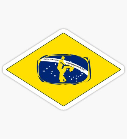 lets dance brazilian zouk Sticker
