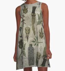 (Super)natural History - Hunter's artefacts A-Line Dress