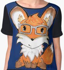 Geeky Fox Chiffon Top