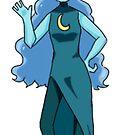 Moon Maiden  by vinylah