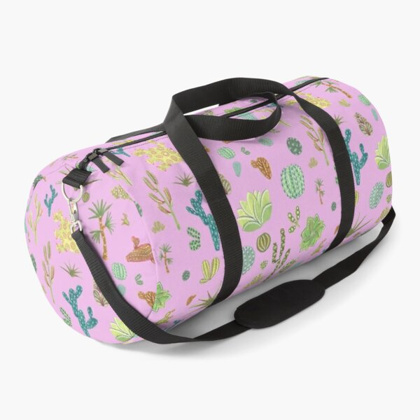 Far from the desert in pink Duffle Bag