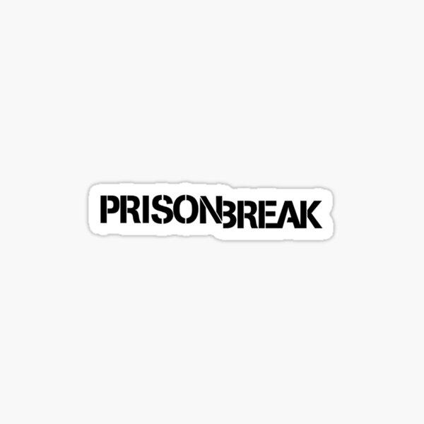 Logo Prison Break Sticker