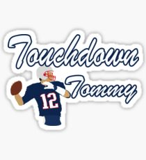 Touchdown Tommy Sticker