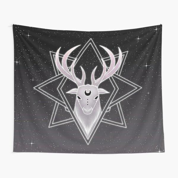 Merlyn - Celestial Spirit Stag | Azyrax Tapestry
